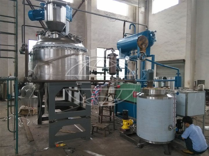 LJG Series Vertical Stirring Vacuum Dryer