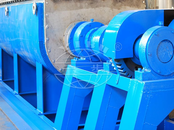 QJP Series Vacuum Hollow Blade Dryer(Vacuum Hollow impeller Dryer)(Vacuum Hollow Paddle Dryer)