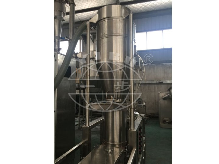 LZL Series Fluidized-vibrating And Continuous granulator