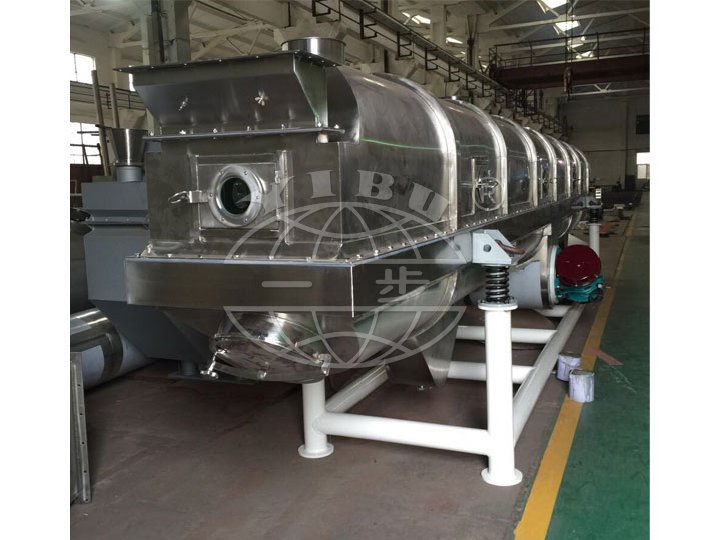 GZQ Series Vibrating Chemical Fluid Bed Drying Machine
