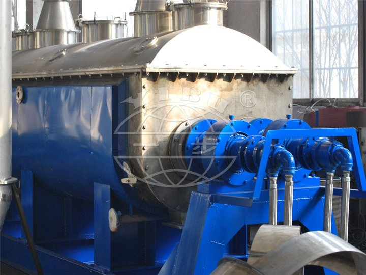 QJ Series Hollow Blade Dryer( Hollow impeller Dryer)(Paddle Dryer)