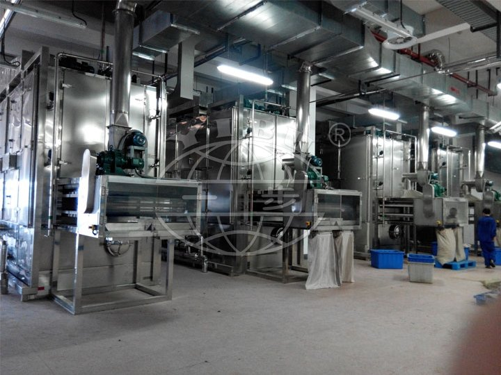 Herb Drying (dehydration) Production Line